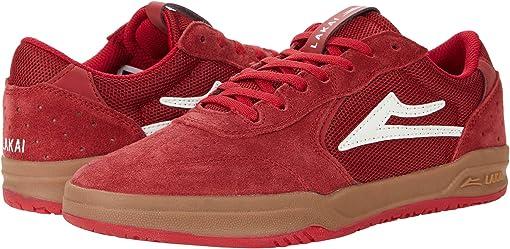 Red/Gum Suede