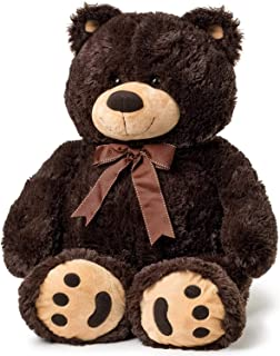 JOON Big Teddy Bear - Dark Brown