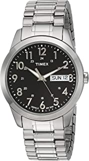 Timex Men's Quartz Watch, Analog Display and Stainless Steel Strap T2M932