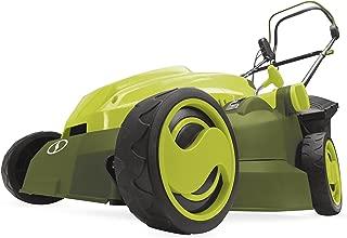 Sun Joe MJ402E Mow Joe 16-Inch 12-Amp Electric Lawn Mower + Mulcher