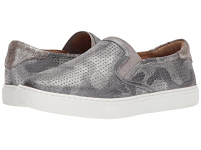 Trask Lillian (Pewter Camo Metallic Suede) Women