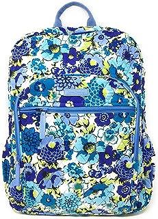 Vera Bradley Lighten Up Campus Backpack Blueberry Blooms