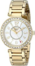 Juicy Couture Women's 1901151 Luxe Couture Analog Display Quartz Gold Watch