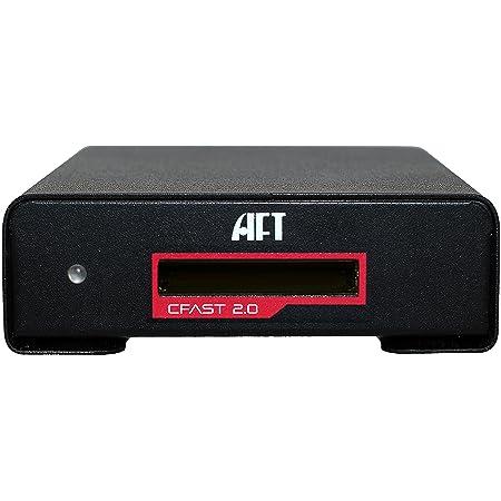 Blackjet VX-1C, CFAST 2.0 Reader USB 3.1 Gen 2, 525MB/s for RED Komodo URSA Alexa Mini EOS 1D, Canon and More