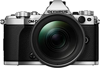 Olympus OM-D E-M5 Mark II Kit, Micro Four Thirds System Camera (16.1 Megapixel, 5-Axis Image Stabilisation, Electronic Vie...