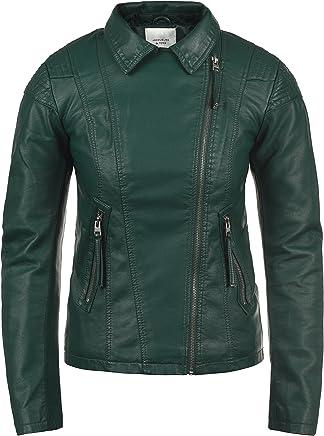 Amazon.es: chaquetas cuero mujer - Verde