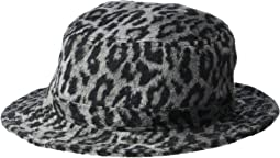 Aluminum/Black Leopard