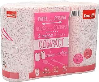 DIA - Papel De Cocina Compact Decorado Paquete 3 Uds