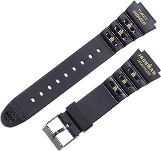 Men's Q7B806 Ironman Triathlon Shock Resin 18mm Replacement Watchband