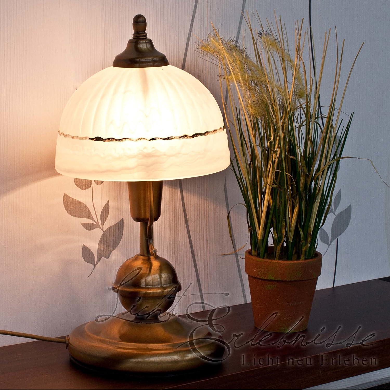 Edle Kinder Hngeleuchte in Bronze Jugendstil inkl. 1x 3W E14 LED 230V Kinderzimmerlampe aus Metall & Glas für Wohnzimmer Schlafzimmer Lampen Leuchte innen Beleuchtung