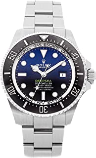 Rolex Sea-Dweller Mechanical (Automatic) Deep Blue Dial Mens Watch 126660 (Certified Pre-Owned)