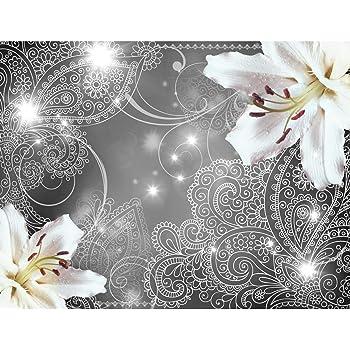 9057011c Tapisserie Decoration Murale XXL Poster Papier peint intiss/é Fleurs dorchid/ée 352 x 250 cm Salon Appartement Photo dart