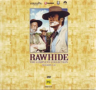Rawhide Complete Collection | Clint Eastwood | 59 Discs | NON-USA Format | PAL | Region 4 Import - Australia