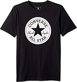 Chuck Taylor Script Short Sleeve Tee (Big Kids)