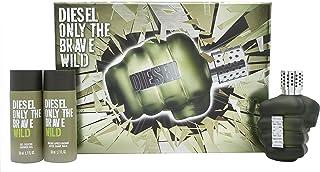 Diesel Only The Brave Wild for Men Eau de Toilette 75ml+50ml Sg+50ml Asb Set