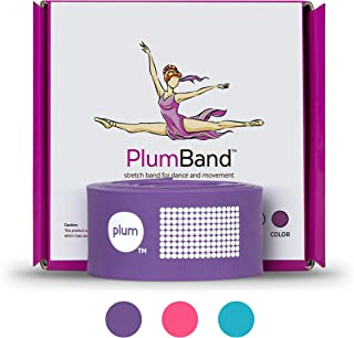 The PlumBand Stretch Band for Dance and Ballet – Colors and Sizes for Kids & Adults – Improve Your Splits, Strength, and F...