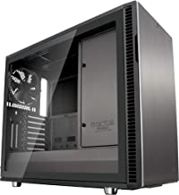 Fractal Design Define R6 USB-C - Mid Tower Computer Case - ATX - Optimized for High Airflow and Silent Computing with Moduvent Technology - Modular Interior - Water-Cooling Ready - Gunmetal Tg