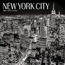 New York City Black & White 2020 12 x 12 Inch Monthly Square Wall Calendar, USA United States of America New York State Northeast Atlantic