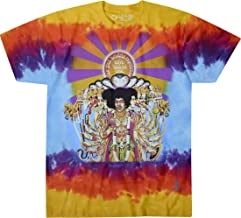 Jimi Hendrix Frame Adult Mens T-Shirt