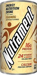 Nutrament Nutritional Drink, Egg Nog, 12 Ounce (Pack of 12)