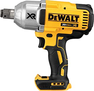 DEWALT 20V MAX* XR Cordless Impact Wrench with Hog Ring Pin Anvil, 3/4-Inch, Tool Only (DCF897B)