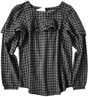 5405c86de5 Ann Taylor LOFT Women's Regular & Petite - Gingham Ruffle Blouse