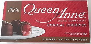 Queen Anne Cordial Cherries 1box 5 Ct 3.3 Oz