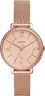 Fossil Women's Jacqueline Stainless Steel Dress Quartz Watch