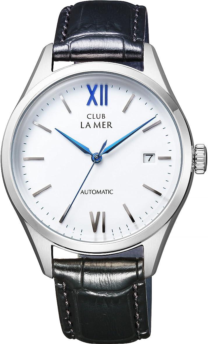 ケーキ体系的に[シチズン]CITIZEN CLUB LA MER クラブ?ラ?メール 機械式腕時計 シースルーバック BJ6-011-10 メンズ