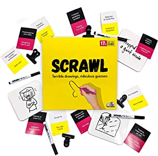 Scrawl: the Adult Party Game Where Innocent Doodles Turn Dirty (Packaging May vary)