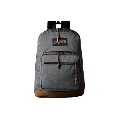 JanSport Right Pack Digital Edition (Black/White Herringbone) Backpack Bags