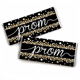 Prom - Candy Bar Wrapper Prom Night Party Favors - Set of 24