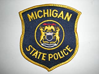 Embroidered Patch - Patches for Women Man - Michigan State Police