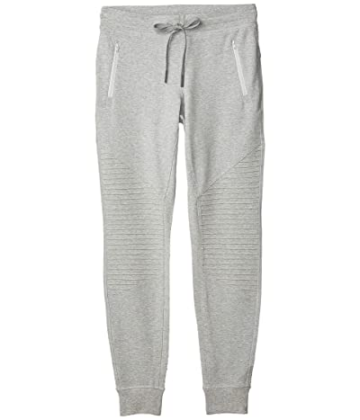 ALO Urban Moto Sweatpants (Dove Grey Heather) Women