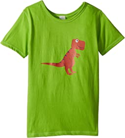 4Ward Clothing PBS KIDS® - Dino Graphic Reversible Tee (Toddler/Little Kids)