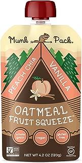 Oatmeal Fruit Squeeze (Peach Chia Vanilla, 12 Pack)
