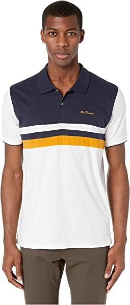 Retro Chest Stripe Polo