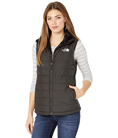 The North Face Mossbud Insulated Reversible Vest (TNF Black 2) Women