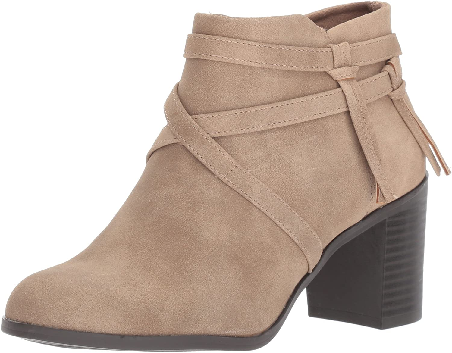 Easy Street Womens Reed Ankle Bootie