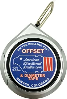 American Directional Driller, MWD Offset & Diameter Tape (1)