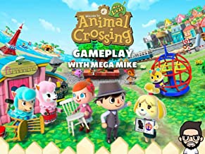 Animal Crossing New Leaf Gameplay With Mega Mike