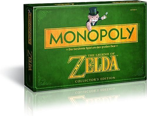 Precio al por mayor y calidad confiable. Monopoly Monopoly Monopoly - Juego de Mesa, Tema Legend of Zelda, de 2 a 6 Jugadores (Winning Moves 43508) (versión en alemán)  tomamos a los clientes como nuestro dios