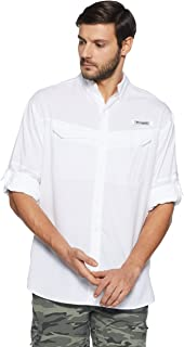 Columbia Men's Low Drag Offshore Long Sleeve Shirt, UPF 40 Protection, Moisture Wicking Fabric