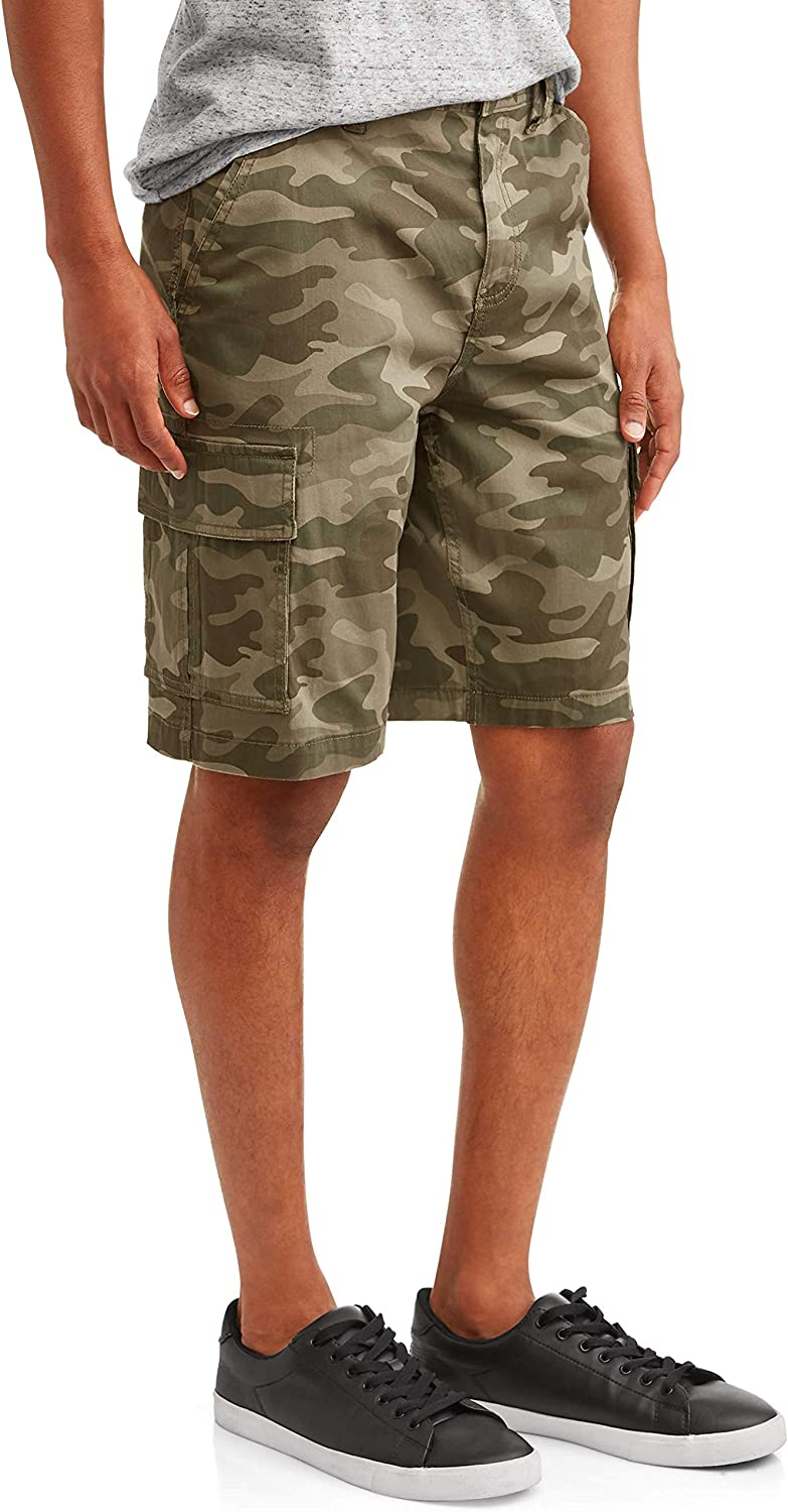 Camo Camouflage Overseas parallel import regular item Above The Stretch Shorts Direct sale of manufacturer Knee Cargo