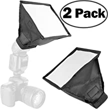 2Pack ChromLives Flash Diffuser Light Softbox Collapsible with Storage Pouch 6