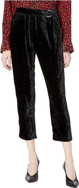 Velvet Skinny Sweatpants