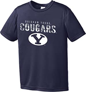 NCAA Youth Boys Digital Camo Mascot Short Sleeve Polyester Competitor T-Shirt