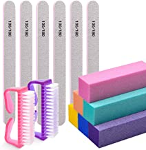 Nail Files and Buffers,Morgles Professional Manicure Tools Buffers Block Tools 100/180..
