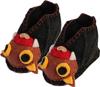 Silk Road Bazaar Bat Infant Zooties, Black, One Size