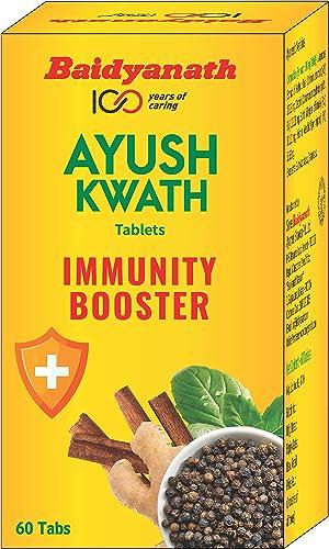 Baidyanath Ayush Kwath Tablets Immunity Booster 60 Tablets